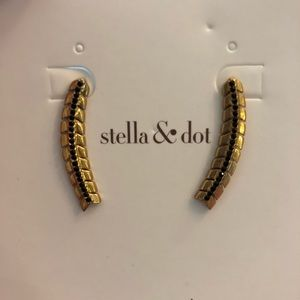 Stella & Dot Gilded Path Ear Climber